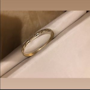 Gold filled bangle